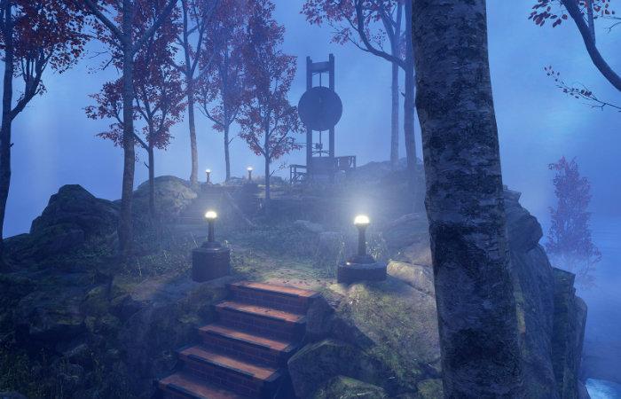 Myst VR game