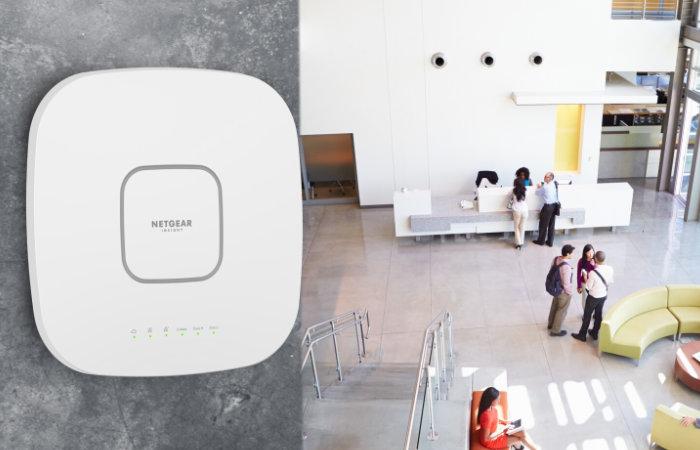 NETGEAR WAX630 WiFi 6 Tri-band wireless access point