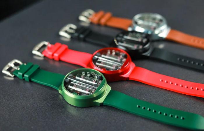 NIXOID Next Nixie tube watch