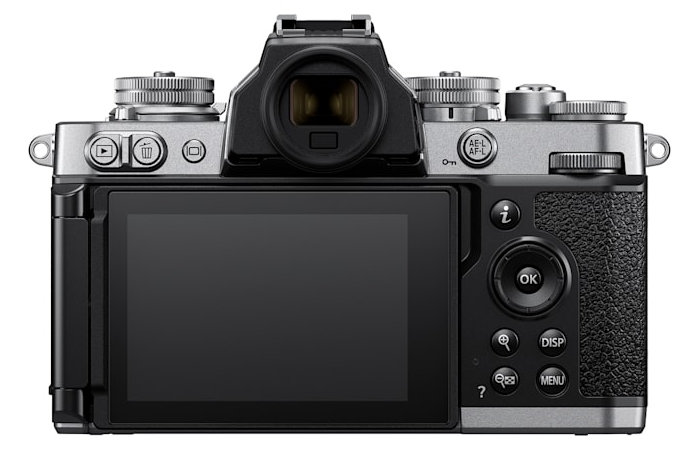 Nikon camera back