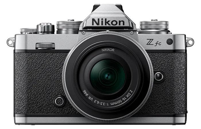New Nikon Z FC camera front