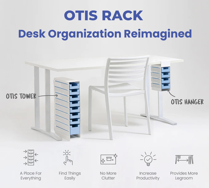 Otis desk organizer