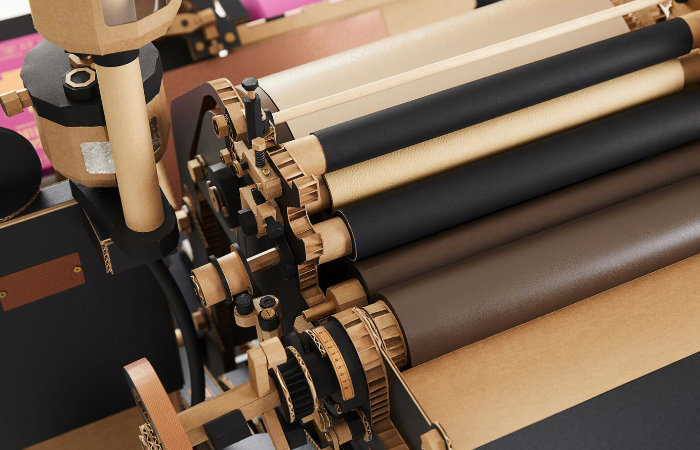 Heidelberg Letterpress crafted out of paper