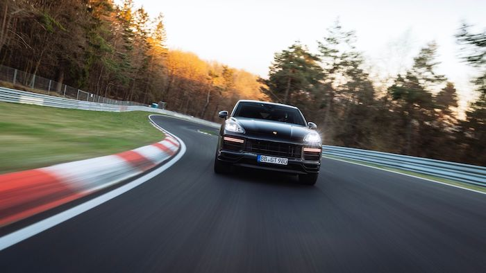 Porsche Cayenne Turbo Coupe sets new Nurburgring