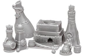 3D printable potion bottles