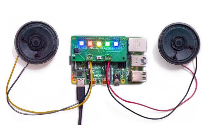 Raspberry Pi audio HAT