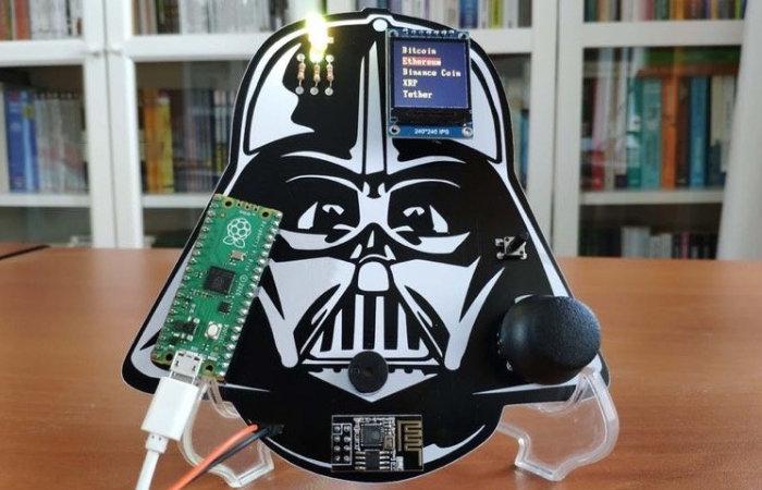 Raspberry Pi crypto price tracker