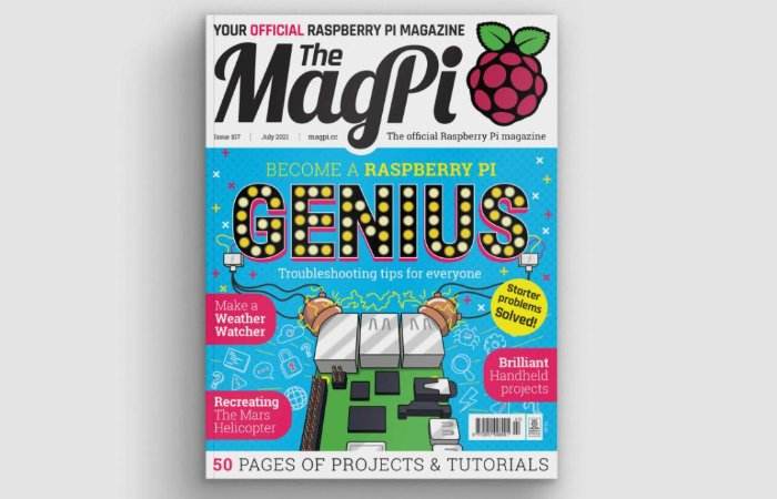 Raspberry Pi magazine issue 107