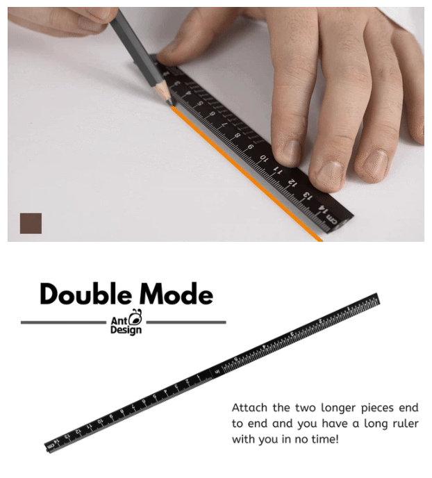 aluminium measuring tool