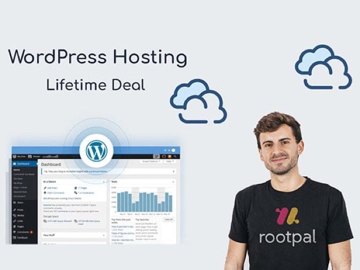 Rootpal WordPress Hosting Startup Plan