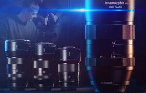 SIRUI 75mm F1.8 1.33x Anamorphic lens