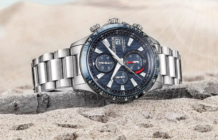Solar Watch V3 ttitanium watch