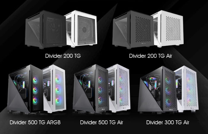 Thermaltake PC cases