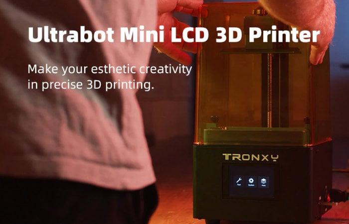 Ultrabot LCD 3D printer