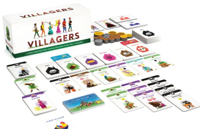 Villagers Shifting Seasons card game expansion