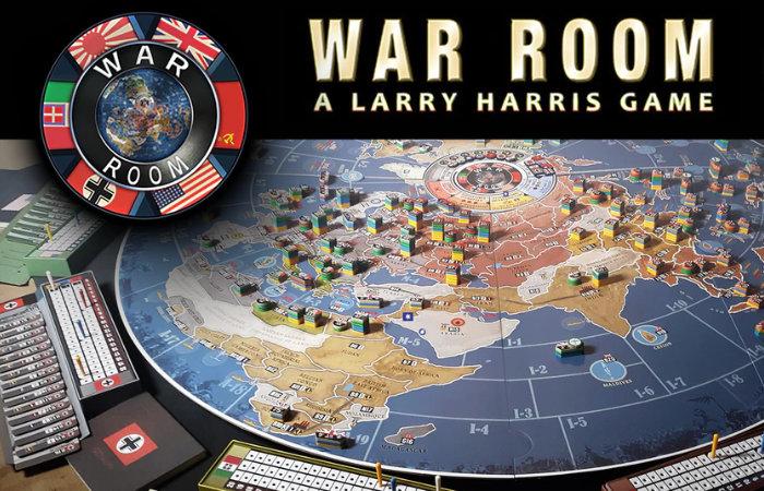 War Room WW2 board game