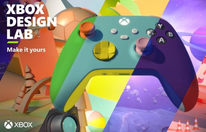 Xbox Design Lab custom controllers