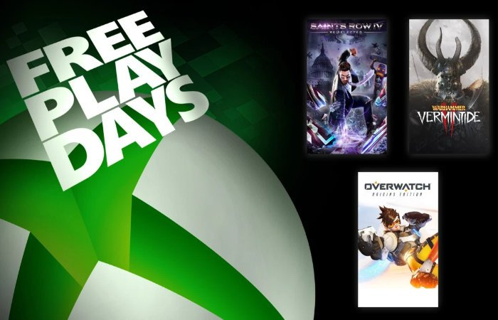 Xbox Free Play Days games