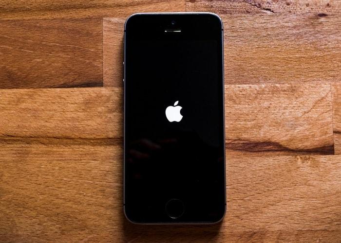 iPhone stuck on the Apple logo