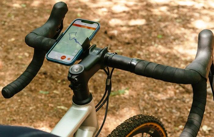 bicycle handlebar phone mount