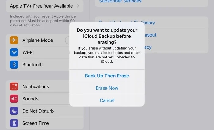 how to erase your iPhone
