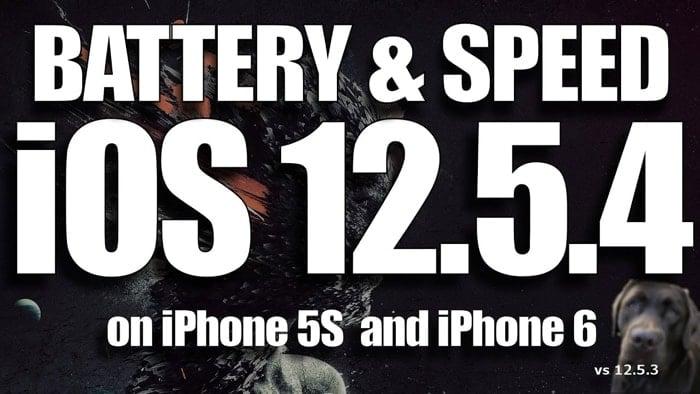 iOS 12.5.4 vs iOS 12.5.3