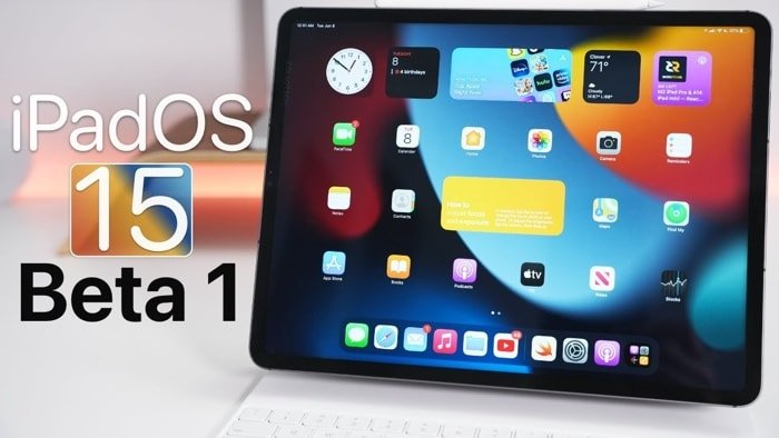 iPadOS 15 beta 1