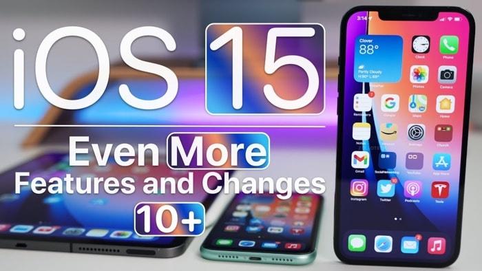 iPhone iOS 15 features
