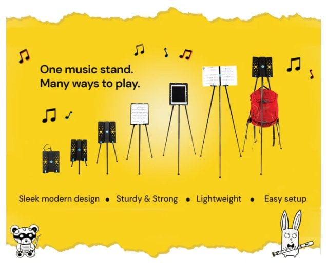 light music stand