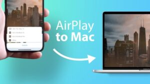 macOS Monterey AirPlay to Mac