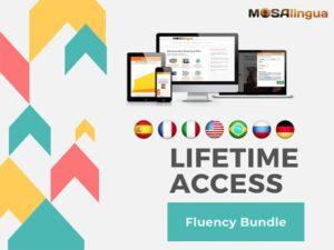 MosaLingua Language Learning Fluency Bundle