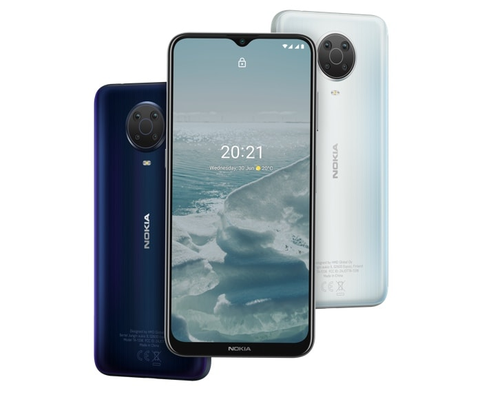 Nokia G10 and G20