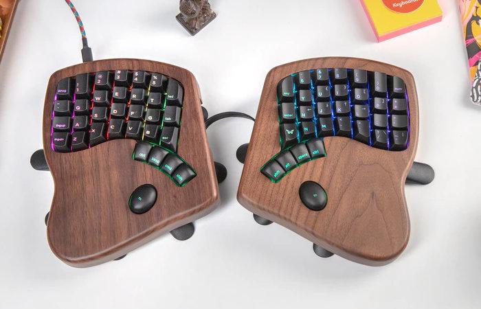 split keyboard ergonomic mechanical