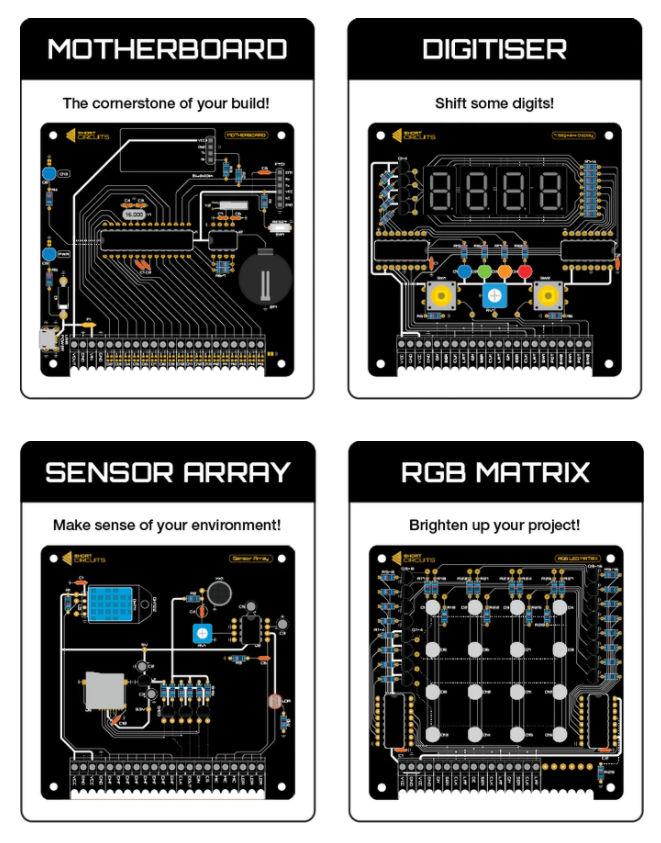 learn electronics kits