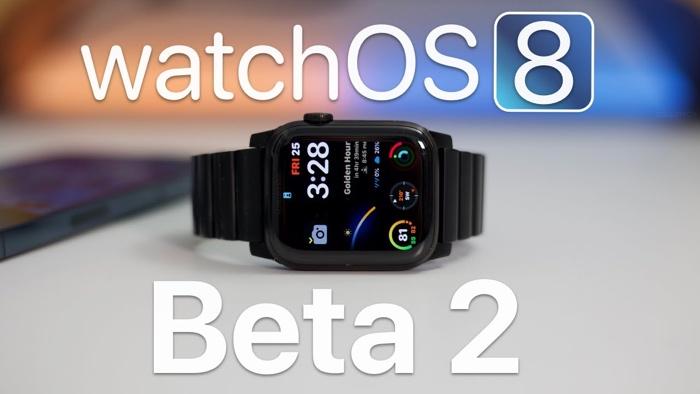 watchOS beta 8 2