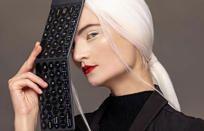 wireless folding keyboard