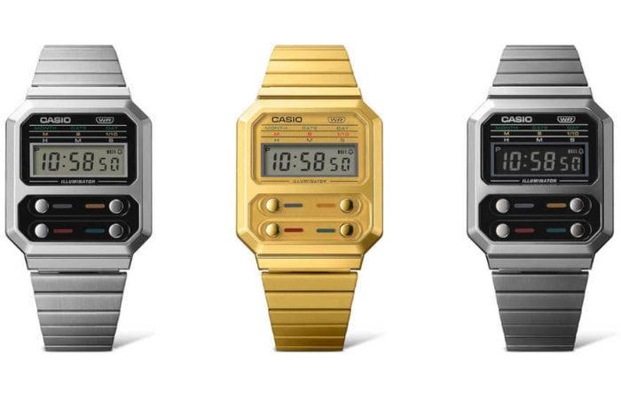 Casio A100 Series digital watch