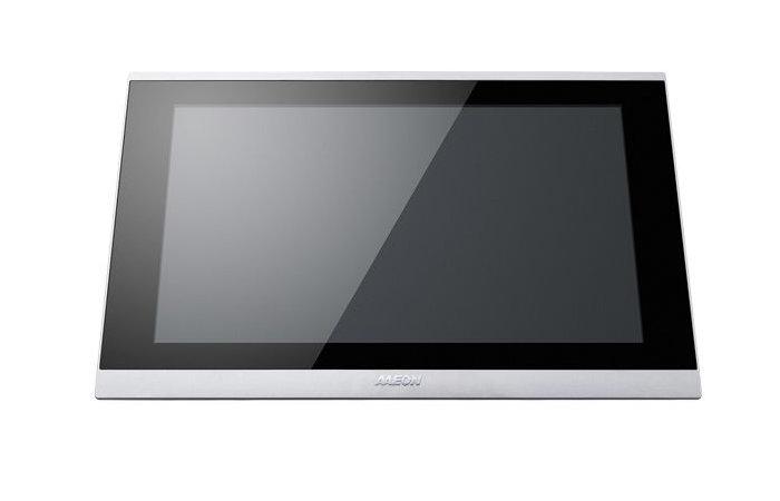 AAEON OMNI-2155-CML industrial mini PC with touchscreen
