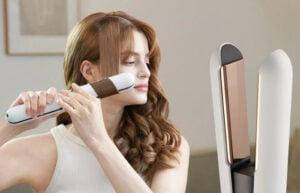 Aesty cordless hair styling flat iron