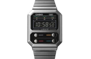 Casio A100WE digital watch
