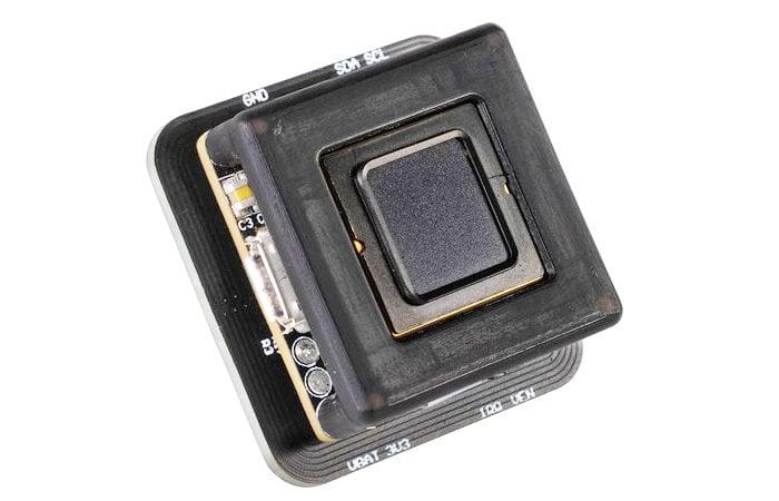Chhavi fingerprint and NFC sensor