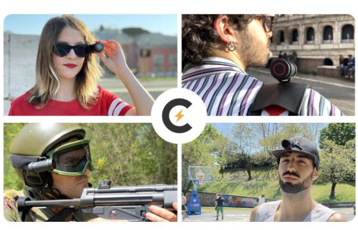 Cleep Pro 4K wearable action camera