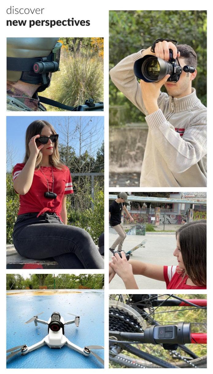 Cleep Pro wearable action camera 4K