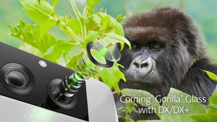 Corning Gorilla Glass with DX