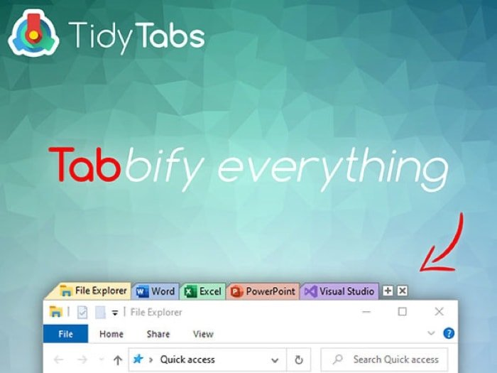 Deals: TidyTabs Windows Manager Professional