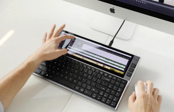 FICIHIP keyboard with screen