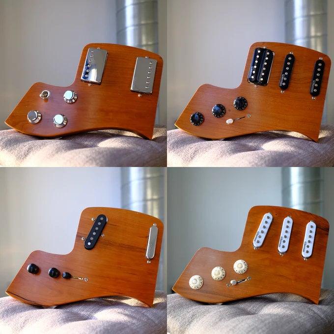 Fern Phoenix modular wooden guitar