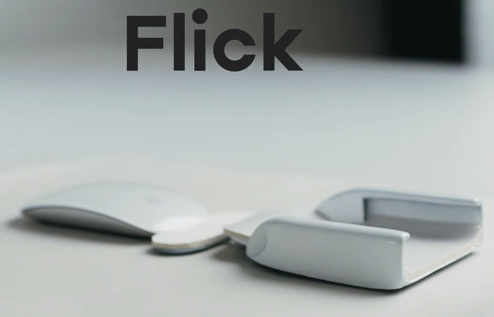 Flick ergonomic mouse arm and wrist rest