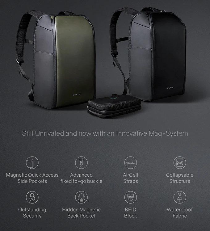 FlipPack backpack