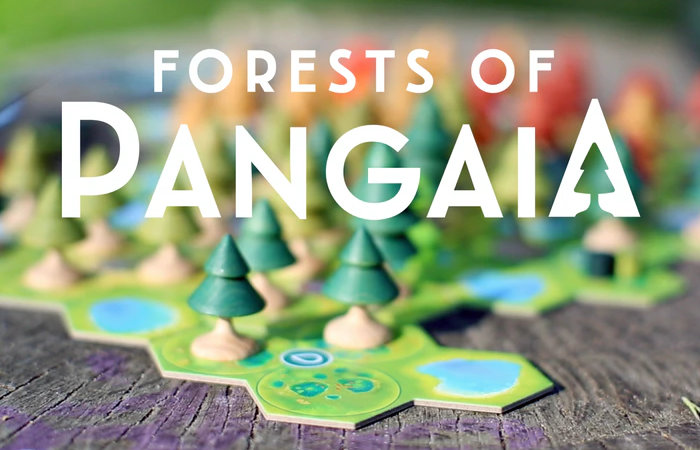 Forests of Pangaia strategy board game